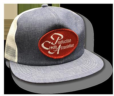 PCA farm cap w/ red patch