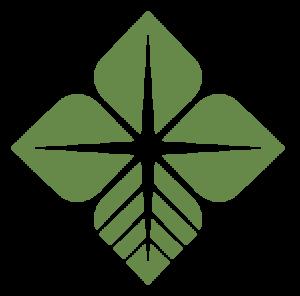 green Farm Credit bio-star leaf icon