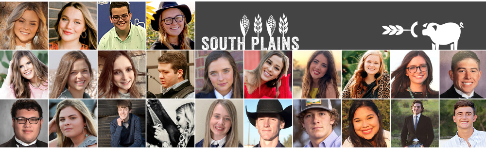 Group of South Plain's Ag Youths